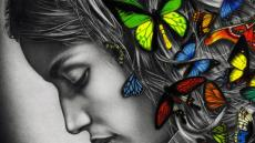 wallpaper-butterfly-woman-colour-digital-art